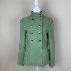 Marc Jacobs Military Jacket Coat Green Size S